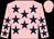 Pink, dark blue stars, pink cap (Caveat Emptor Partnership)