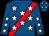 Royal blue, red sash, white stars (Hickman, Joseph And Farkas, Dennis)