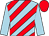 Light blue, red diagonal stripes, light blue sleeves, red cap (Rashed Mohd Mahran Al Bloushi)