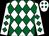 White, kelly green diamonds (Robbie Kuegel)