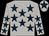 Light grey, dark blue stars, dark blue star on cap (Jj Montagne)