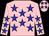 Pink, Blue stars, Pink cap, Blue stars (Gl Ferron)