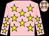 Pink body, yellow stars (M Kichenassamy)