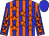 Blue, orange stripes and stars, blue cap (Tianna Richardville)