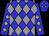 Blue, grey diamonds (Smock, Lori A And Mello, Dennis)