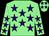 Light green, purple stars (Mr Rob Lewin)
