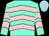 Aqua, pink chevrons, light blue cap (Erj Racing, Llc, Head Of Plains Partners Llc, Strauss, W And Cronin, J)