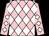PINK & WHITE DIAMONDS, Black cap (Rockview Racing Club)