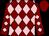 Maroon, pink diamonds, maroon cap (Rivolta, Brian And Rivolta, Mark)