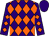 Purple, orange diamonds, purple cap (Luis Cotto)