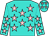 Turquoise, Pink Stars (Charles Reed)