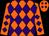 Orange, purple diamonds (Luis Cotto)