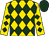 Gold, hunter green diamonds, hunter green cap (Northwind Thoroughbreds Llc)