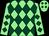 Light green & dark green diamonds (F Gillespie)