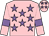 Pink, mauve stars and armlets (Mr Mel Mathias)