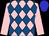 pink and royal blue diamonds, pink sleeves, blue hoop, blue cap (Stavrides, Thalia, Carroll, Dennis And Carroll, Wanda)