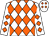 White, orange diamonds (Paradise Road Ranch, Llc)