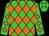 Lime green, orange diamonds (Boyle, Donald And Peggy)