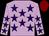 Lilac, purple stars, maroon cap (Messrs J M W Moolman, N G Stevens, B Van Den Berg,)
