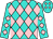 Turquoise, pink diamonds (Aimee Hall)