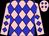 Pink, blue diamonds (Jeffery Reeves)