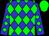Kentucky blue, green diamond belt, green diamond band on sleeves, green cap (Warnock, Frank, Warnock, Carolyn, O'brien, Steve And Draper, Labhras G)
