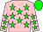 Bright pink, bright green stars and cap (Mr Adriaan Strauss)
