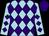 Light blue body, purple diamonds, light blue arms, purple diamonds, purple cap (P Nador)