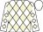 White, beige diamonds, white cap (Kales Company Llc)