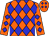 Orange, blue diamonds (Justin Morrell)