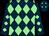 Dark blue and light green diamonds (Mr S Stuckey)