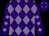Purple and mauve diamonds (Wintle Racing Club)