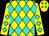 Yellow, turquoise diamonds (Peter Johnson)