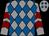 Grey, royal blue diamonds, maroon chevrons on grey sleeves (Hernandez, Keith, Hernandez, Earl, Landry, Steve And Duvieilh, John)
