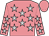 Flamingo pink, silver stars, flamingo pink cap (The Holly And Ivy Stable Llc And Scott M Schwartz Racing Stables Inc)