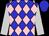 Blue, silver crown on pink ball, pink diamonds, silver sleeves, blue cap (Terrie Kisielewski)