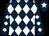 Dark blue, white diamonds, white star on dark blue cap (Kretz Racing Llc, Raw Racing Llc And McLeod, Heather)