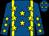 Royal blue, yellow braces, yellow stars (Mme Trijntje Offenberg-de Leeuw)