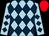 Light blue, dark blue diamonds, red cap (Unifaith Bloodstock (mgr: A J Koolman), Archer Racing (mgr: A A Inglis), Mrs C J Inglis, Mrs J Minahan, G Minahan, R Atra, Mrs C M A Atra, P C Shadbolt, Mrs K J Shadbolt, J K Sheather & Mrs K P Sheath)