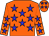 orange, blue stars (B Pottier)