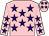 Pink Body, Purple Stars, Pink Arms, Purple Stars, Pink Cap, Purple Stars (M lehmann)