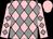Pink and grey diamonds, pink cap (Lady Lloyd-Webber)
