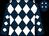 Dark blue and white diamonds (The Musketeers)