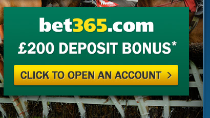 Open an Account with Bet365